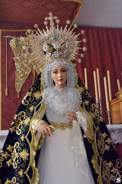 Mercedes San Jose >> Provincia. La Virgen de la Paz de Dos Hermanas estuvo de ...