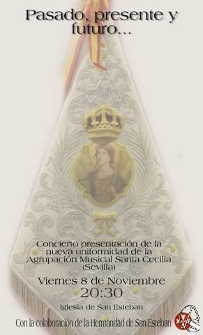 San Esteban. Actividades y cultos previstos para el mes de noviembre. Hoy, concierto de Santa Cecilia - Arte Sacro