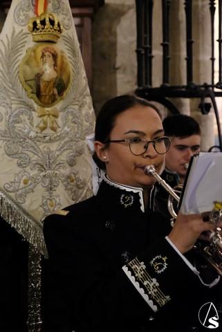 La Agrupación musical Santa Cecilia presentó sus nuevos uniformes en San Esteban - Arte Sacro