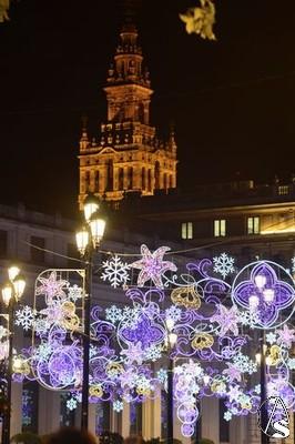 Inaugurada la iluminaci n navide a en las calles de sevilla - Iluminacion sevilla ...