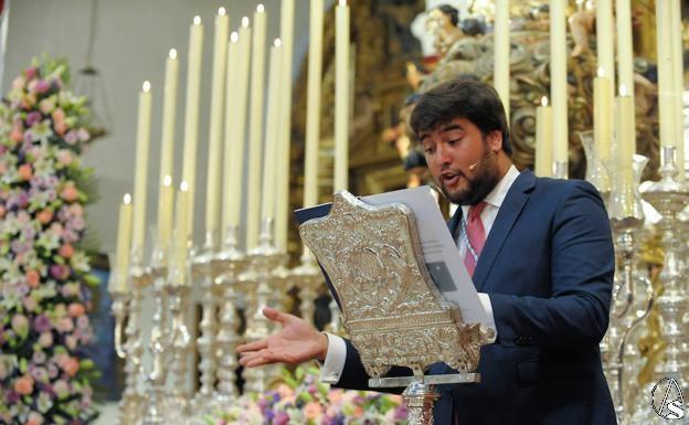 Provincia. Designado el Pregonero de la Semana Santa 2020 de Santiponce - Arte Sacro