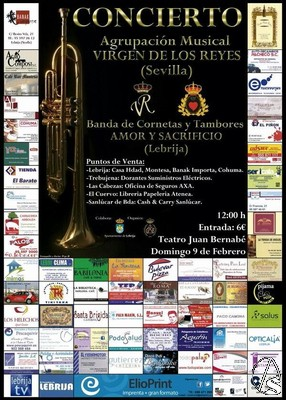 Provincia hoy en lebrija concierto organizado por la hdad for Axa seguros sevilla oficinas