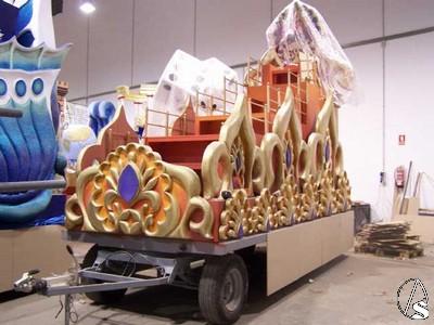 Carrozas De Reyes Magos Fotos.Las Carrozas De La Cabalgata De Reyes Magos De Sevilla Casi