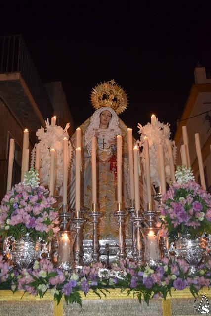 Provincia. Galería. Rosario vespertino María Stma. del Dulce Nombre de La Algaba. Eduardo Fdez. López - Arte Sacro
