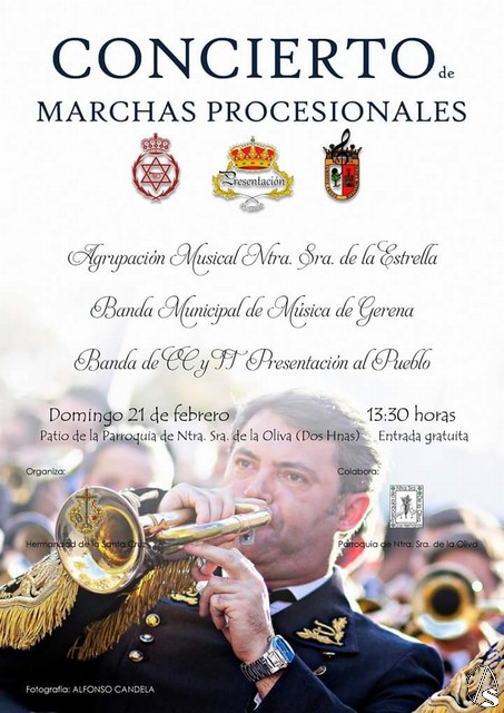 Provincia concierto de marchas procesionales en la hdad - El tiempo dos hermanas sevilla ...