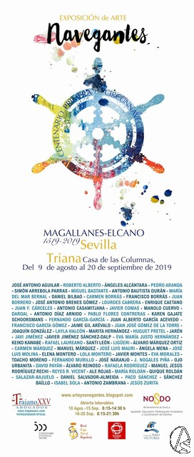 La exposición 'Navegantes' será el homenaje a Magallanes, Elcano y a los protagonistas de la primera vuelta al mundo. Hoy inauguración - Arte Sacro