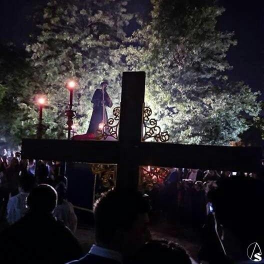 Misa y procesión en honor de San Agustín - Arte Sacro