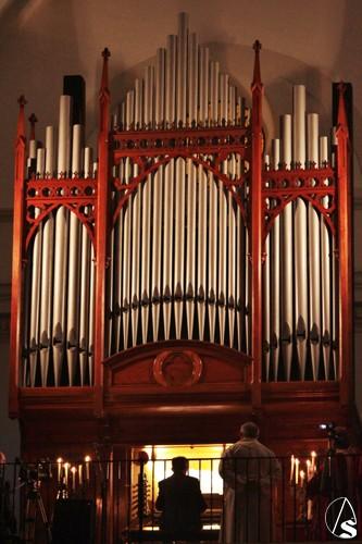 Provincia hoy concierto de rgano en la parroquia de for Concierto hoy en santiago