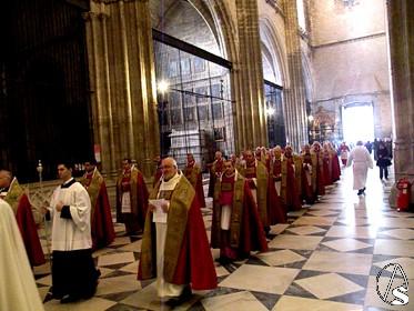 La procesi n de la espada con tinte de reconquista - Endesa el puerto de santa maria ...