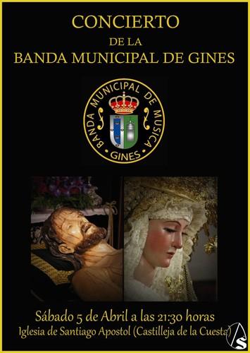 Provincia hoy concierto de la banda municipal de gines en for Concierto hoy en santiago