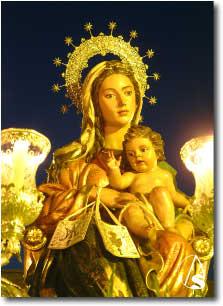 Resultado de imagen de salida procesional del Inmaculado Corazón de María claret