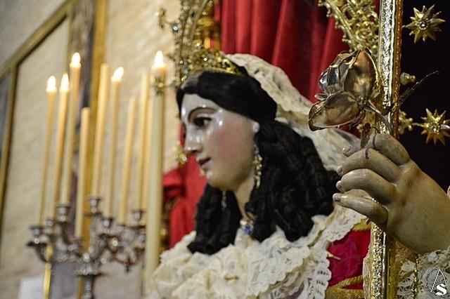 Resultado de imagen de Divina Pastora de Triana 2017