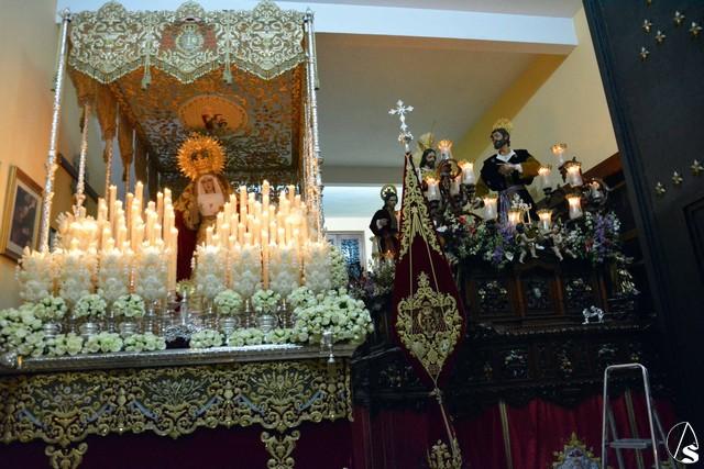 Resultado de imagen de borriquita dos hermanas templo