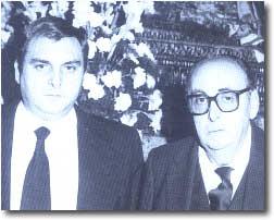 Manolo y Eduardo Bejarano /Foto: Jesús Martín Cartaya.